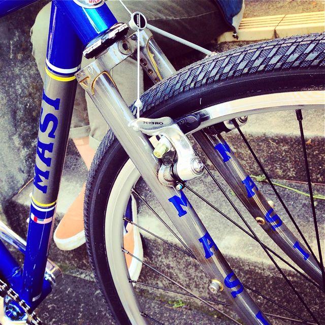 MASI 2015 SPECIALE CX マジィ スペシャーレ クロモリ おしゃれ自転車 ロード_b0212032_21151076.jpg
