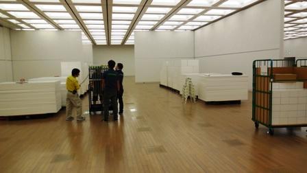作業日誌(第37回日本新工芸展東京展撤去作業)_c0251346_13214817.jpg