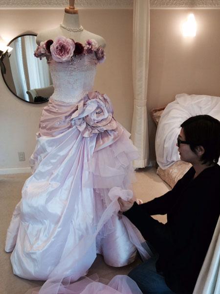 先週のウエディングドレスのこと_c0072971_14222325.jpg