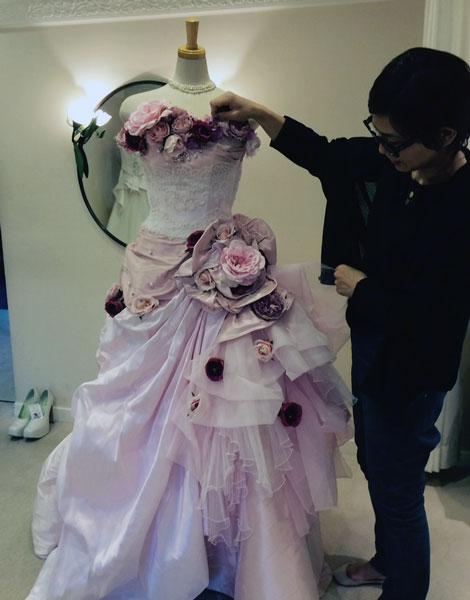 先週のウエディングドレスのこと_c0072971_1423159.jpg
