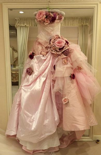 先週のウエディングドレスのこと_c0072971_14244434.jpg