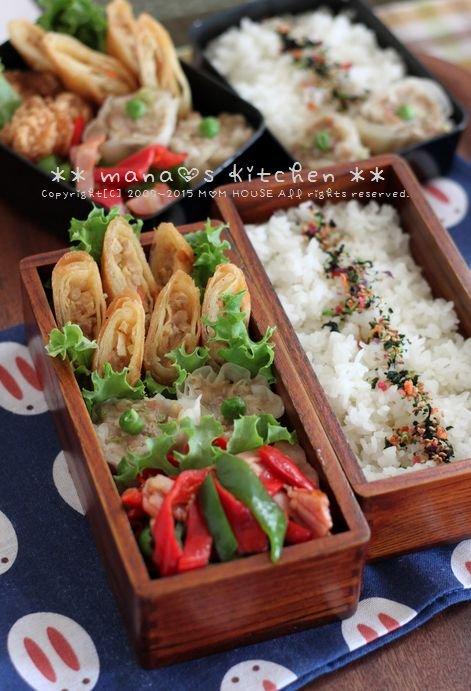 中華弁当 ✿ フライパンすき焼き♪_c0139375_11181634.jpg