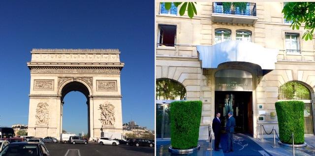 パリ旅~5つ星ホテル『ホテル・フーケッツ・バリエール』_a0138976_16421084.jpg