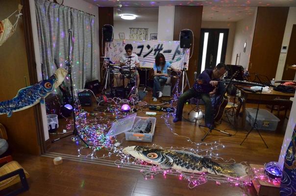 5月16日、五月晴れコンサート@Noriくん宅♪_e0188087_22373383.jpg