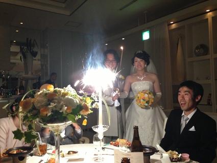 友人の結婚式_f0259324_1833119.jpg