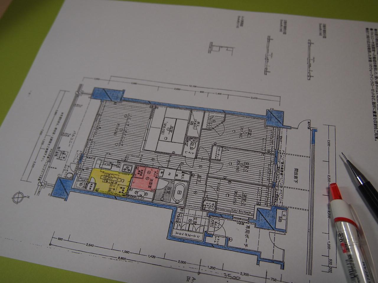 葛飾区/中庭のあるマンション。。。2_a0214329_015599.jpg