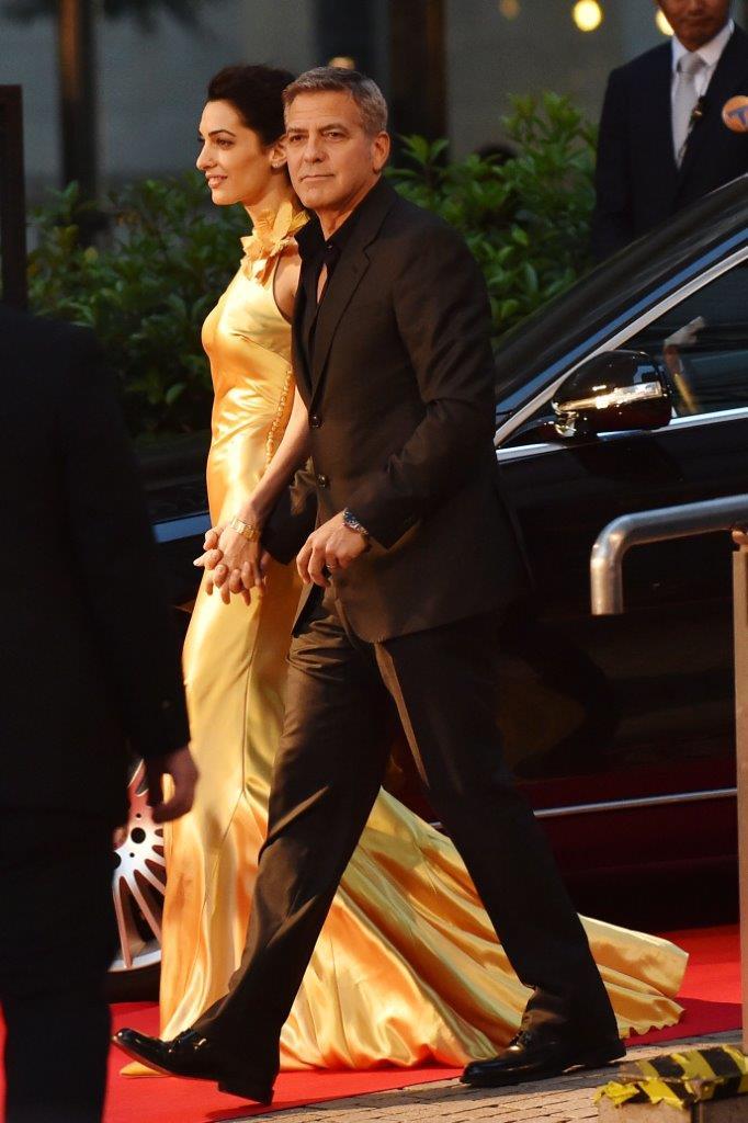 ジョージ・クルーニー夫妻、映画「トゥモローランド」のジャパンプレミアでオメガ着用_f0039351_021922.jpg