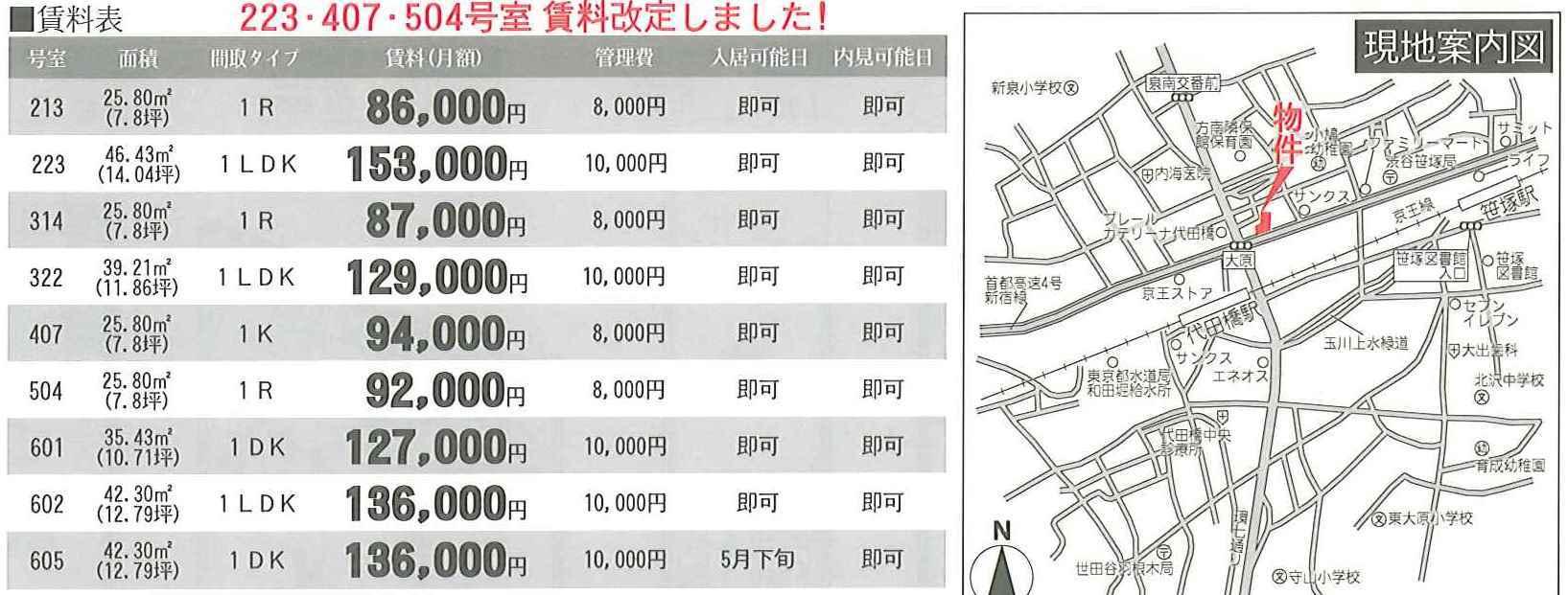 高級賃貸マンション◇レジディア笹塚◇_b0246953_16032006.jpg