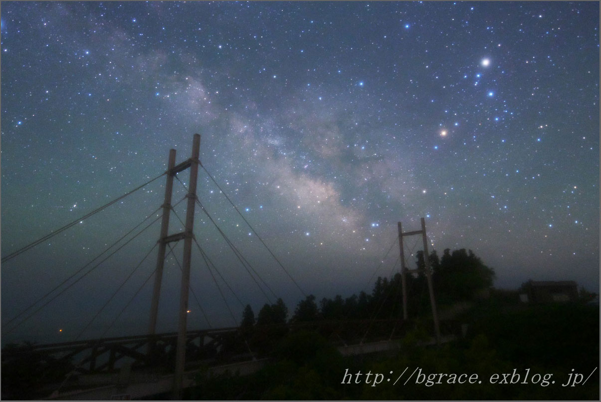 天の川橋 と 銀河 フィルターテスト_b0191074_19343910.jpg
