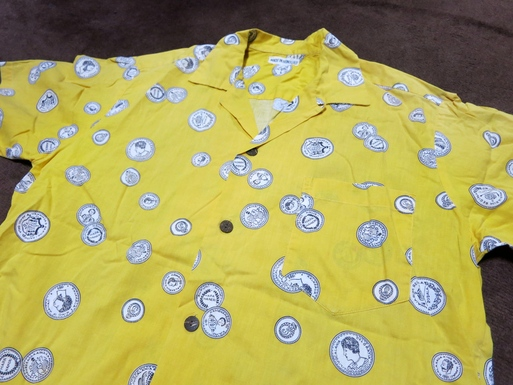 5/30(土)入荷!50'S COIN 柄 ALL COTTON HAWAIIAN SHIRTS!_c0144020_14275263.jpg