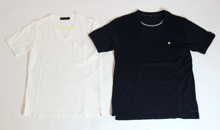 V-neck Pocket T-shirt _e0142928_20395334.jpg