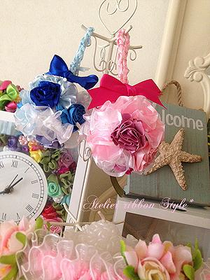 Ruffed mini Ball Bouquet*Pink_f0017548_09295396.jpg
