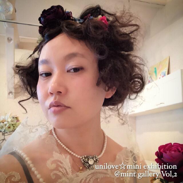 unilove☆mini exhibition @ mint hairVol,2その3 人物編2日目_f0223361_21172024.jpg