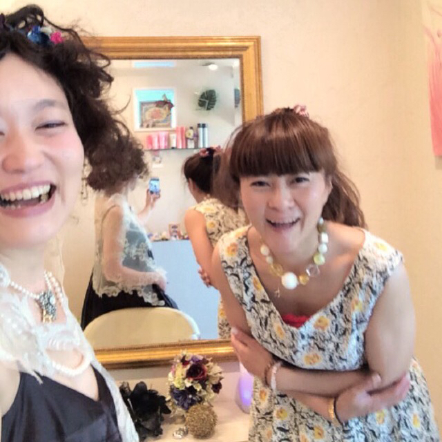 unilove☆mini exhibition @ mint hairVol,2その3 人物編2日目_f0223361_21172025.jpg