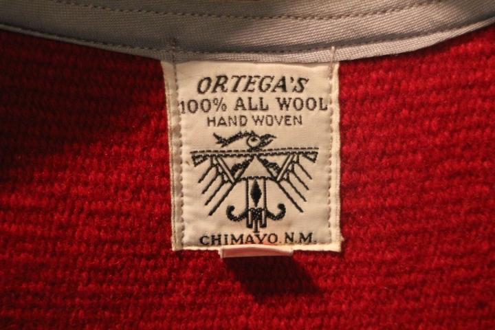 ORTEGA'S Chimayo Vest_b0121563_16261690.jpg