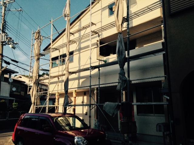 オーナーの塗装 京都修学院の家_b0349892_13330496.jpg