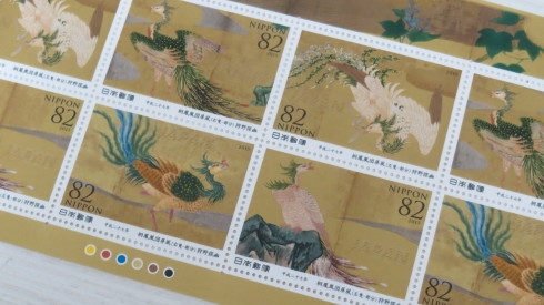 日本画教室。Japanese painting classroom._c0160745_17460377.jpg