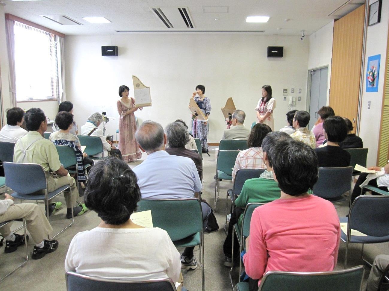 初夏の朗読コンサート(高井戸図書館)終演しました。_e0173350_2261358.jpg