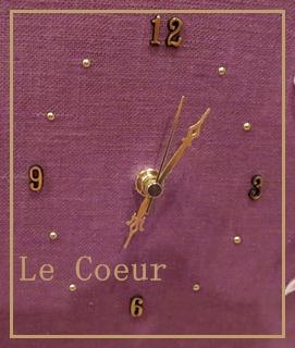 カルトナージュの置時計_f0305451_235404.jpg