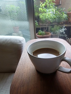with green   庭の手入れのち ベトナムコーヒー♪_a0165160_10283524.jpg