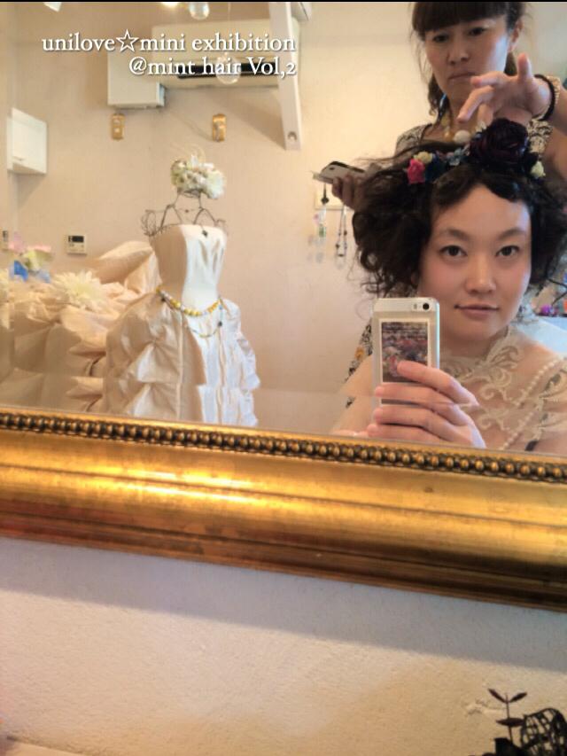 unilove☆mini exhibition @ mint hairVol,2その3 人物編2日目_f0223361_12155091.jpg
