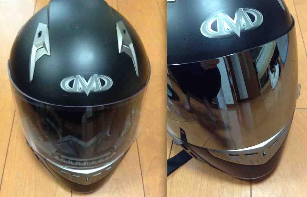 ヘルメットのバイザーを交換した_d0164691_1494144.jpg