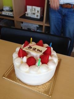 おめでとう、片田さん_e0149215_86575.jpg