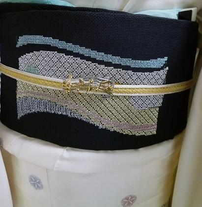 単衣のぜんまい紬のお客様・シャンソンボサノバライブへ。_f0181251_13492125.jpg