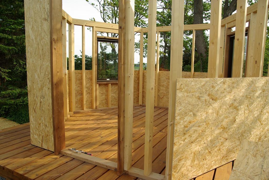 小屋作り・壁できた編_a0107184_2102516.jpg