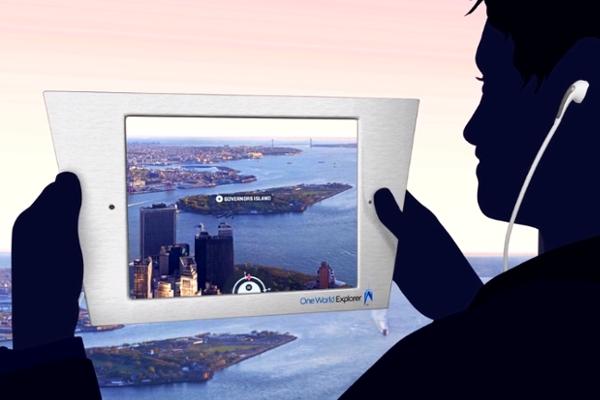 最新テクノロジーを搭載したワン・ワールド展望台の「エクスプローラー iPad」_b0007805_23131887.jpg