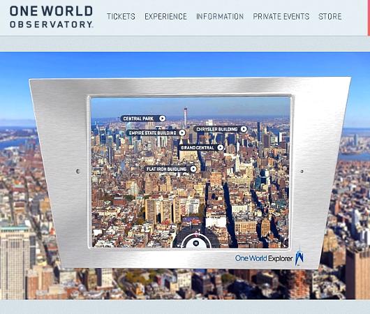 最新テクノロジーを搭載したワン・ワールド展望台の「エクスプローラー iPad」_b0007805_239742.jpg