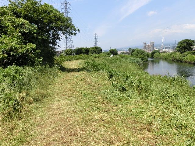 暑さに負けず! 本年度最初の滝川の草刈り清掃_f0141310_730838.jpg