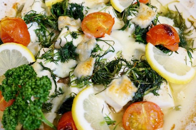 【簡単!鰯/豆腐とお野菜のチーズレモン焼き】Meijiさんのスライスチーズで濃厚な味わいです♪_b0033423_17223511.jpg