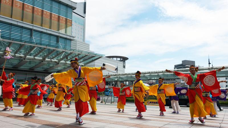 四国の祭り 2015 濱町 花神楽 / よさこい_d0246136_23332485.jpg