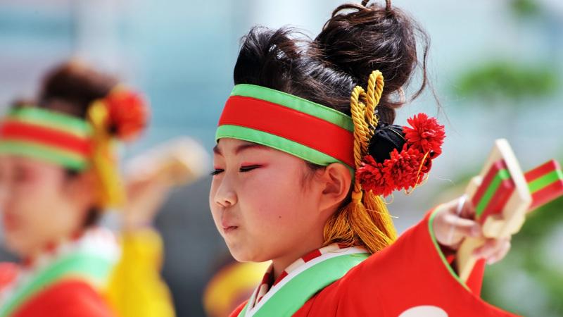 四国の祭り 2015 濱町 花神楽 / よさこい_d0246136_23334343.jpg