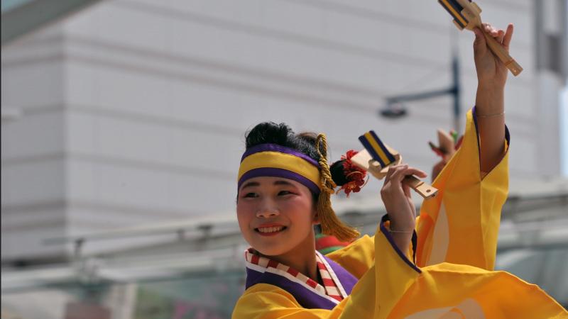 四国の祭り 2015 濱町 花神楽 / よさこい_d0246136_23335955.jpg