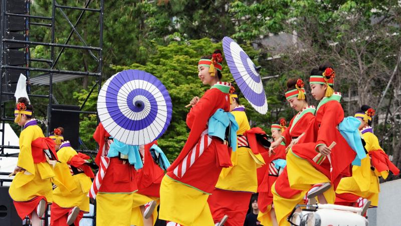 四国の祭り 2015 濱町 花神楽 / よさこい_d0246136_23343928.jpg