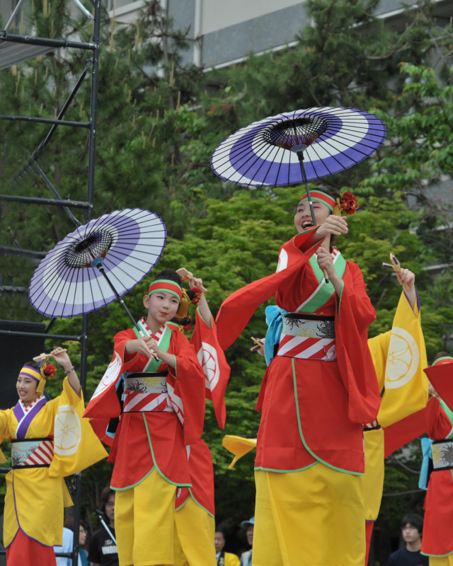 四国の祭り 2015 濱町 花神楽 / よさこい_d0246136_23345971.jpg