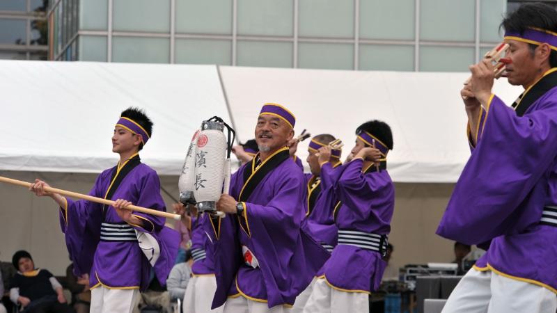 四国の祭り 2015 濱町 花神楽 / よさこい_d0246136_23363137.jpg