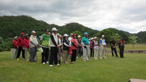 第8回岩泉町長杯パークゴルフ選手権大会1_b0219993_1735161.jpg