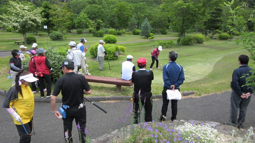 第8回岩泉町長杯パークゴルフ選手権大会1_b0219993_17374568.jpg