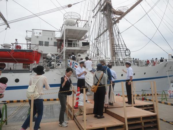 バリシップ2015・帆船『日本丸』と海事展の一般公開 _f0231709_10465198.jpg