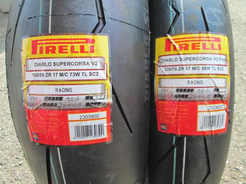 DUKE990RとMT-09のタイヤ交換♪_c0086965_2253146.jpg