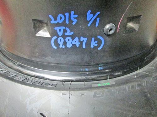 DUKE990RとMT-09のタイヤ交換♪_c0086965_2322496.jpg