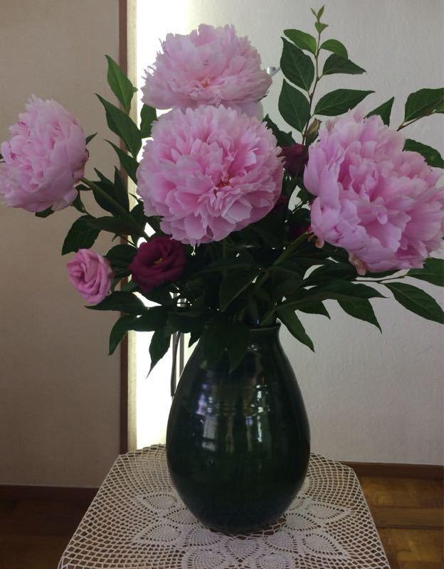 紫陽花のフラワーアレンジメント_e0233674_931841.jpg