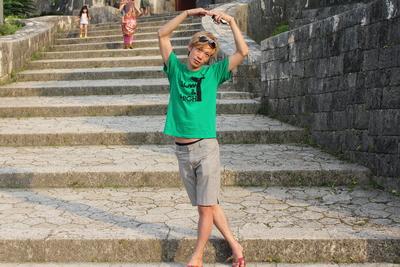 沖縄でおっきな輪!!!。_f0182998_1450334.jpg