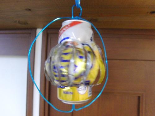 アルミクラフト ~ 空き缶風車 ~_e0222340_1550147.jpg