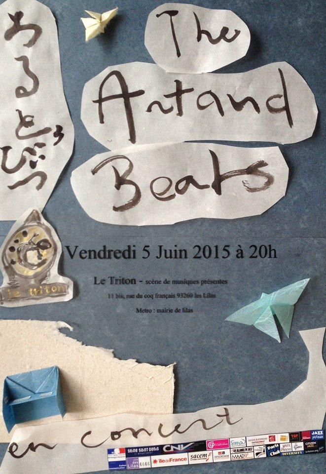 6月5日アルトー・ビーツ レコ発パリ近郊Le Triton 5 June The Artaud Beats LOGOS launch at Le Triton_c0129545_196178.jpg