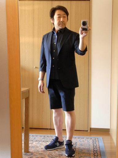 「上質なショートパンツ」&「新型のクールジャケット」 ~ コットン&リネン祭り! 編_c0177259_22211983.jpg