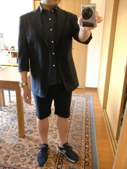 「上質なショートパンツ」&「新型のクールジャケット」 ~ コットン&リネン祭り! 編_c0177259_22225954.jpg